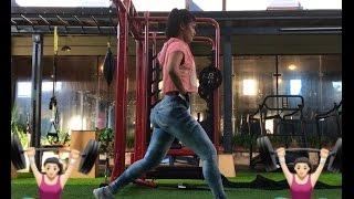 Exercícios em casa para definir  as pernas 🏋🏻♀️(por SIDHY GONÇALVES)