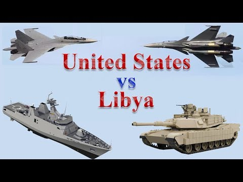 United States vs Libya Military Power 2017