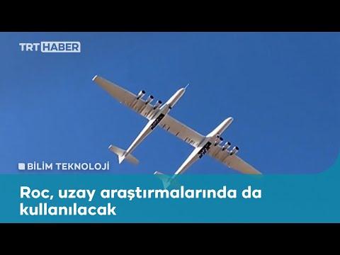 """""""Dünyanın kanat açıklığı en uzun uçağı"""" test uçuşunu tamamladı"""