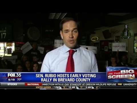 Marco on Fox 35: Take Advantage of Early Voting