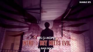 [3D+BASS BOOSTED] BTS (방탄소년단) J-HOPE - INTRO : BOY MEETS EVIL (TEASER VER.) | bumble.bts