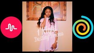 1Night - Destiny Briona - Nightcote Sped-up Version