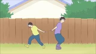【手描き】おそ松さん+パンダヒーロー【六つ子】 full