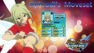 Aphrodite's Moveset In Inazuma Eleven Go Strikers 2013