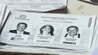 En fotocopias se está votando la Gran Consulta por Colombia