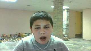 boy sings grenade by bruno mars
