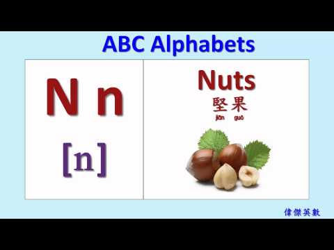 ABC英文字母發音(ABC Alphabets Phonics) - YouTube
