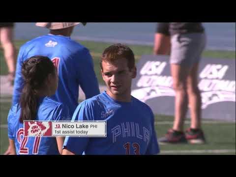 Video Thumbnail: 2018 National Championships, Mixed Final: Philadelphia AMP vs. Seattle Mixtape