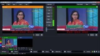 Cara Me-Relay Siaran TV dengan vMix