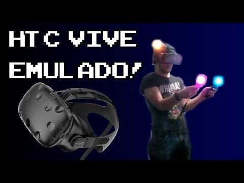 HTC VIVE EMULADO CON GEAR VR/CARDBOARD + PSMOVE!!