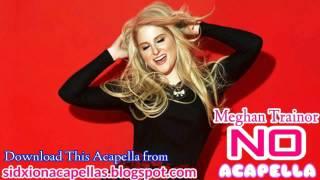 Meghan Trainor - NO (Acapella)+DL