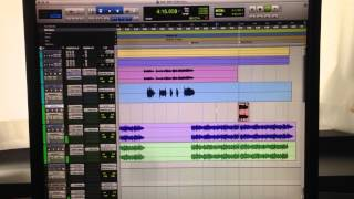 """Mixing Jose Morales new song """"Tell Me."""""""