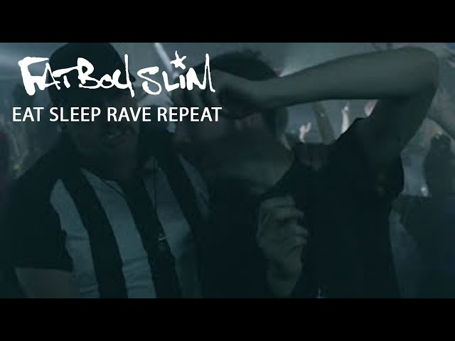 Videoclip oficial de 'Eat, Sleep, Rave, Repeat', de Fatboy Slim y Riva Starr.