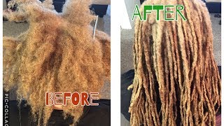 REATTACHING NATURALLY GROWN LOCS | NO THREAD | NO GLUE | NO WEAVE