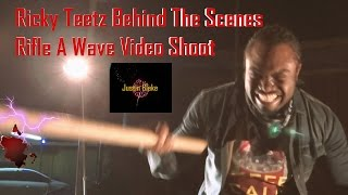 Ricky Teetz Behind The Scenes Rifle A Wave Video Shoot