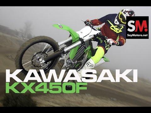 Prueba Kawasaki KX450F 2016