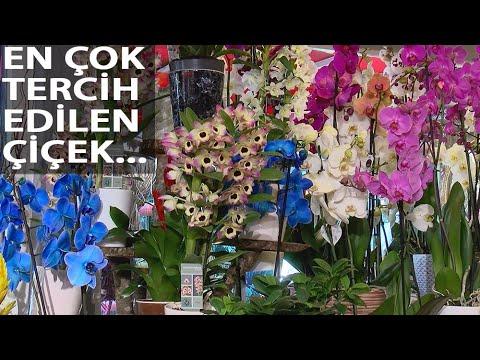 Çiçekçiler 'Anneler Günü' Mesaisinde