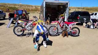 MX warmup: Motley Crue, Kickstart My Heart