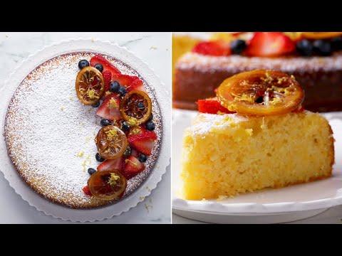 How To Bake A Lemon Ricotta Cake ?Tasty