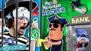 HELLO NEIGHBOR COPS & ROBBERS! FGTEEV Hide N Seek #2 (GRANNY watches Marts' kids)