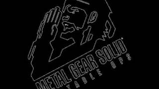 MGS: Portable Ops Soundtrack - WarHead Storage Facility