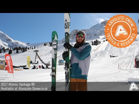 2016 / 2017 | Atomic Vantage 85 Skis | Video Review