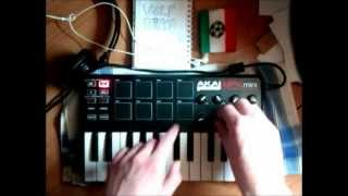 Live hip-hop on AKAI MPK mini