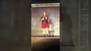 Mia Rose sings Grenade at Woodland Idol