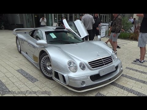 The Quail Rally: Green Senna, CTR3 Clubsport - CLK GTR, F40, Chrome P1 and more!