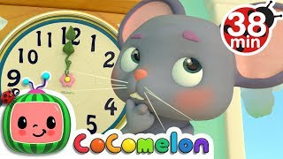 Hickory Dickory Dock | +More Nursery Rhymes & Kids Songs - CoCoMelon