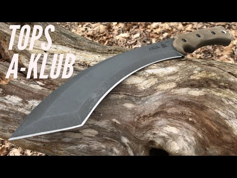 TOPS Knives A-Klub: Machete-Like Tool for The Woods Designed by Amanda Kaye