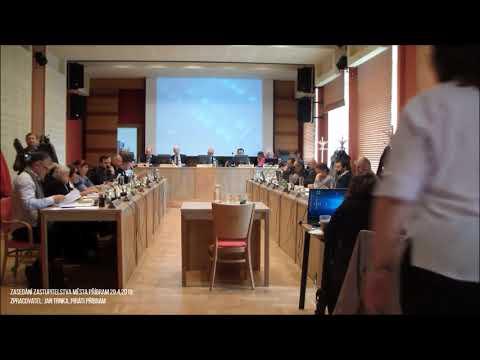 Zasedání zastupitelstva města Příbram 29.4.2019