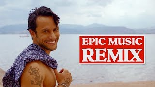 Κωνσταντίνος Φραντζής - Διακοπές feat Γιάννης Ρουσσουνέλος | Official Music Video - Epic Music Remix