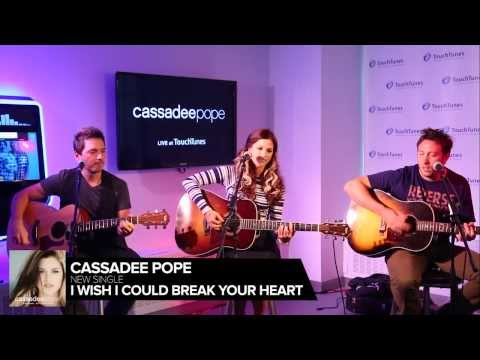 "Cassadee Pope - ""Wish I Could Break Your Heart"" Live at TouchTunes"