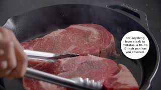 A video on choosing the best cast-iron skillet