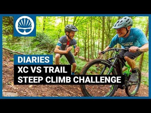 Climbing The Unclimbable | XC vs Trail Mountain Biker | BikeRadar Diaries Ep18
