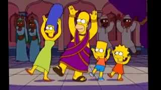 The Simpsons in India S17 Hindi song