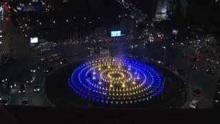 Svečano otvaranje muzičke fontane na Slaviji uz Sinana