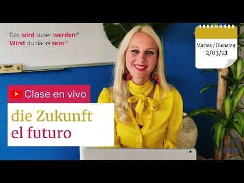 el futuro en alemán - die Zukunft (clase de alemán en vivo)