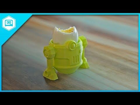 Egg2-D2 – 3D Printing Timelapse