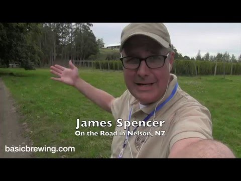 New Zealand Hop Production - Basic Brewing Video - April 1, 2016