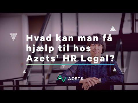 Hvad kan man få hjælp til hos Azets' HR Legal?