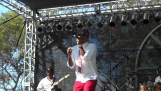 Anthony David performs Words live at the BB Jazz Festival 2012