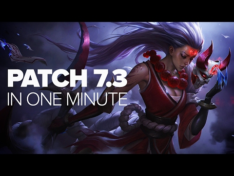 League of Legends Patch 7.3 in a Minute