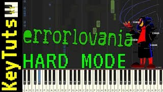 Learn to Play Errorlovania from Errortale (Undertale AU) - Hard Mode