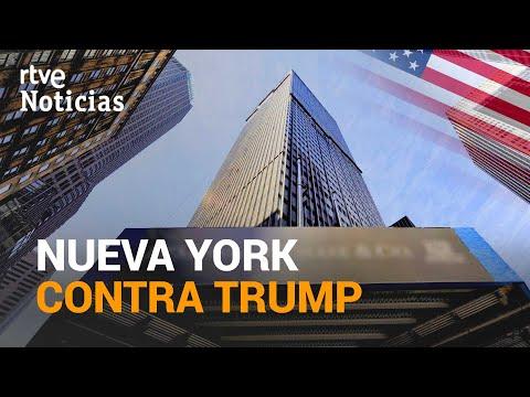 NUEVA YORK cancelará sus contratos con la empresa de Trump   RTVE Noticias