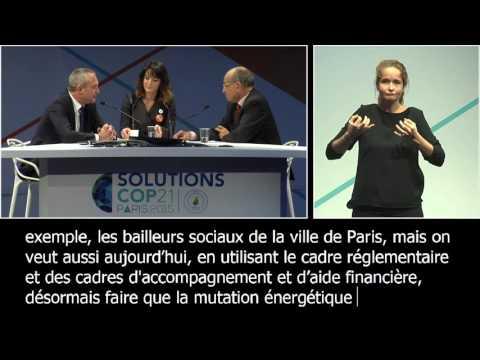 L'urbanisme durable au sein du territoire parisien