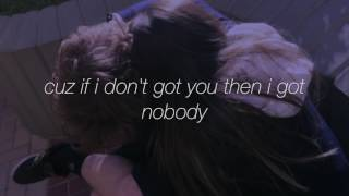 weak when ur around - blackbear// lyrics
