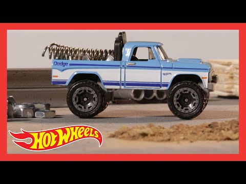 HW HOT TRUCKS™ in TAKING ON THE COMPETITION | @Hot Wheels