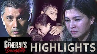 Marcial and Rhian survive the boat explosion | The General's Daughter (With Eng Subs)